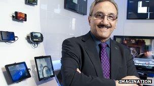 Hossein Yassaie, CEO of Imagination