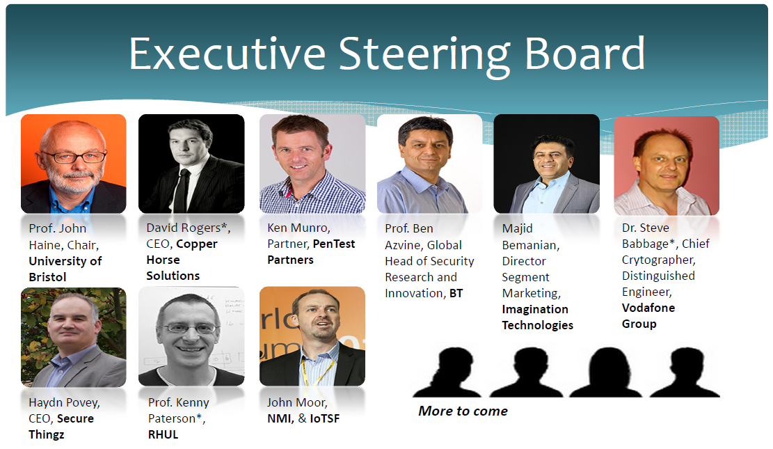 IoT Security Foundation - steering board