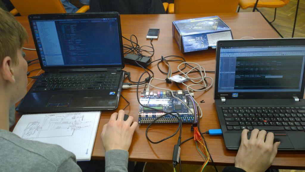 MIPSfpga hardware hackathon