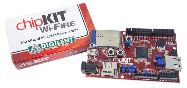Digilent chipKIT™ Wi-FIRE board